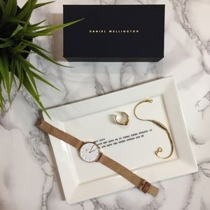 Daniel Wellington Rose Gold Watch (+ extra band)
